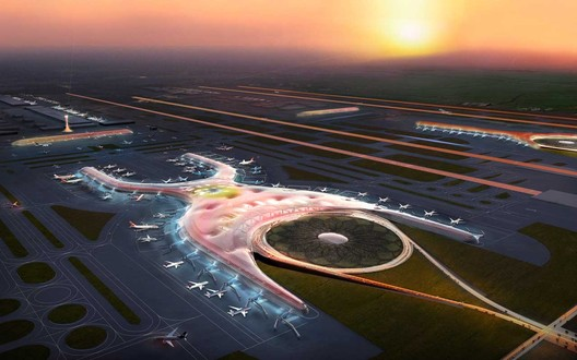 Mexico City Airport - Engineering & Architectural Beauty